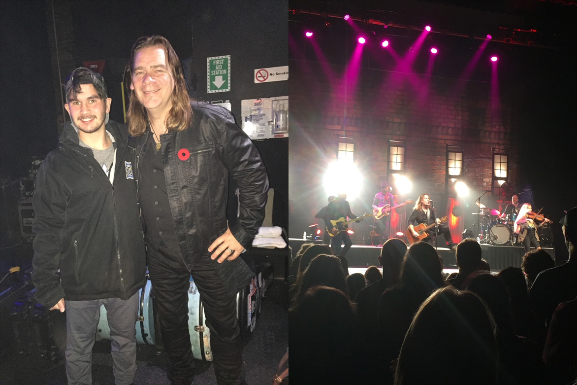 Alan Doyle and Nick Fung