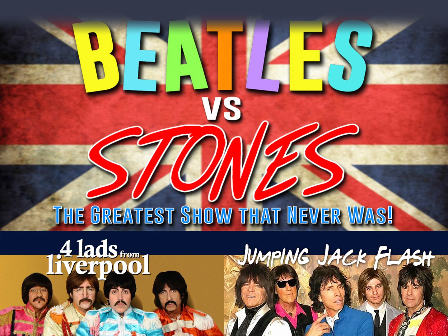 Beatles Versus Stones - The Battle of the Brits